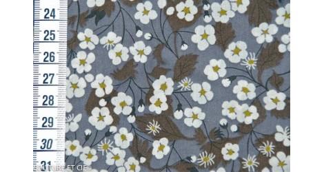 Tissu Liberty Mitsi gris dans LIBERTY OF LONDON par Couture et Cie