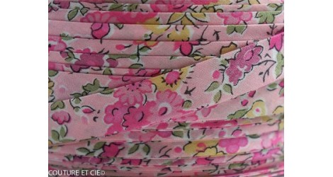 Biais Liberty Tatum rose dans BIAIS par Couture et Cie