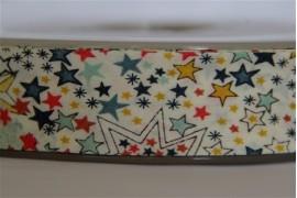 Biais Adelajda multicolore, morceau de 127cm