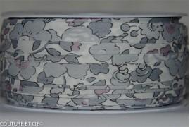 Biais Liberty Betsy gris platine x10cm dans Accueil par Couture et Cie