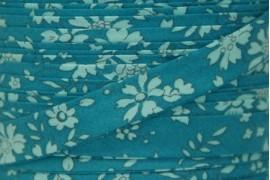 Biais Liberty Capel bleu vert