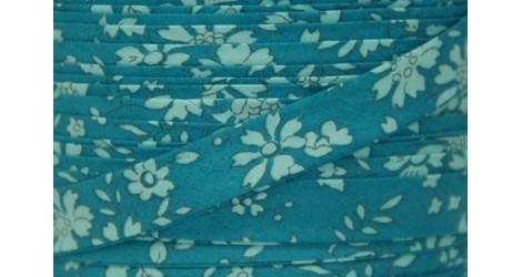 Biais Liberty Capel bleu vert, x10cm dans BIAIS par Couture et Cie
