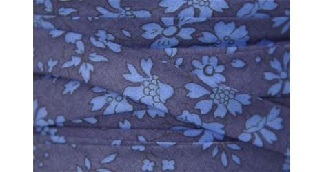 Biais Liberty Capel bleu marine, x10cm dans BIAIS par Couture et Cie