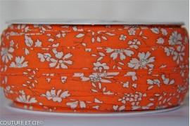 Biais Capel orange fluo