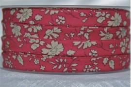 Biais Liberty Capel rouge, x10cm