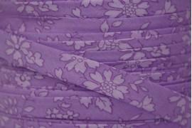 Biais Liberty Capel violet ton sur ton, x10cm