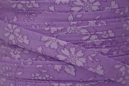 Biais Liberty Capel violet ton sur ton