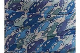 Biais Liberty Cars bleu