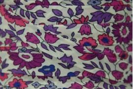 Biais Liberty d'Anjo violet, x10cm