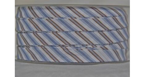 Biais Détente rayé bleu dans Tous les biais par Couture et Cie