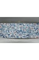 Biais Liberty Eloise bleu, morceau 110cm
