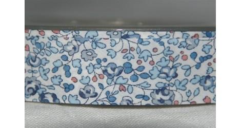 Biais Liberty Eloise bleu, morceau 110cm dans Accueil par Couture et Cie