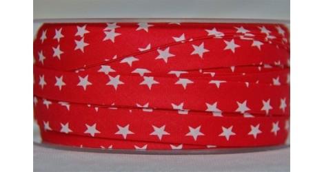 Biais Plaisir d'étoiles rouge dans Tous les biais par Couture et Cie