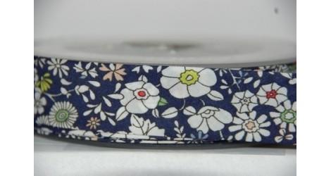 Biais Liberty June's Meadow bleu, x10cm dans Accueil par Couture et Cie