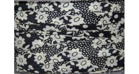 Biais Liberty Milie noir, x10cm dans Accueil par Couture et Cie