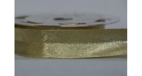 Biais or brillant dans Biais Lurex par Couture et Cie