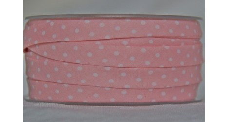 Biais rosaline à pois dans Tous les biais par Couture et Cie