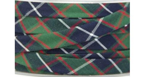 Biais Tartan vert dans Biais carreaux par Couture et Cie