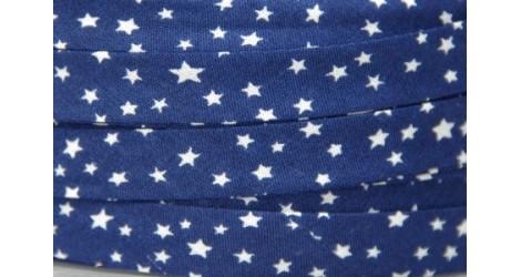 Biais Voie lactée bleu nuit dans Tous les biais par Couture et Cie