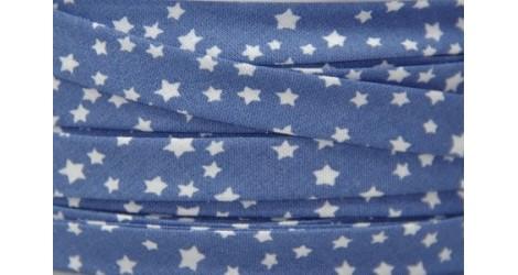 Biais Voie lactée bleu céleste dans Tous les biais par Couture et Cie