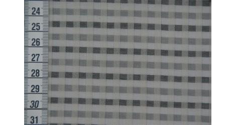 Tissu bio P'tits carreaux gris dans TISSUS BIOLOGIQUES par Couture et Cie