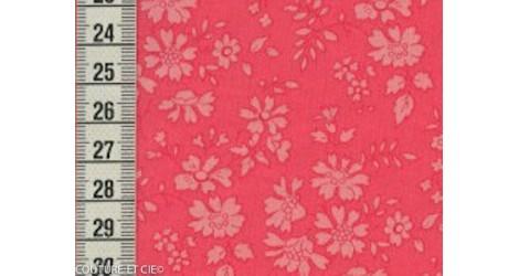 Tissu Liberty Capel corail dans Tissus LIBERTY OF LONDON par Couture et Cie