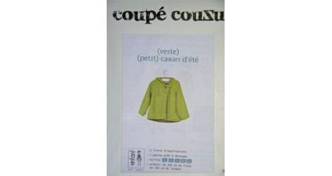 Petit Caban d'été dans Coupé Couzu par Couture et Cie