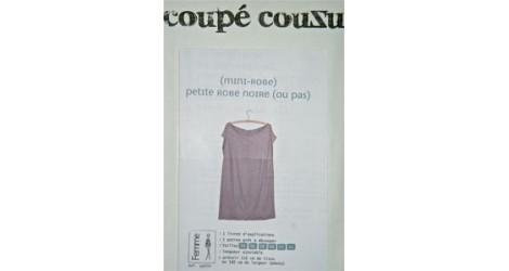 Petite robe noire (ou pas) dans Coupé Couzu par Couture et Cie
