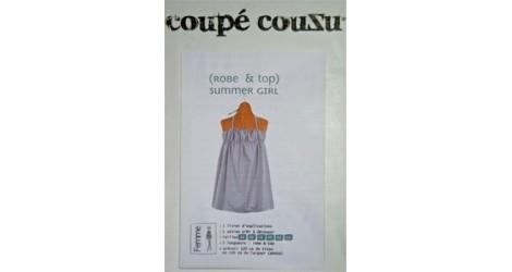 (Robe) Summer girl dans Coupé Couzu par Couture et Cie