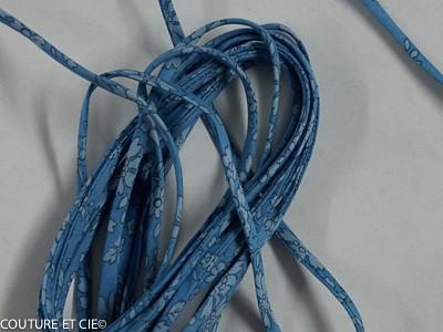 Cordon Liberty Capel bleu jean