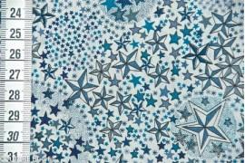 Tissu Liberty Adelajda bleu, x10cm