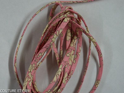 Cordon Capel rose pâle