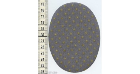 Coudières FDS gris étoiles or dans COUDIERES par Couture et Cie