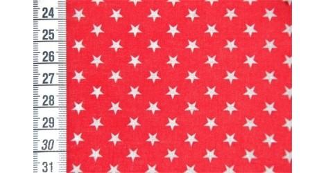 Tissu Etoiles Rouge dans Tissus Etoiles par Couture et Cie