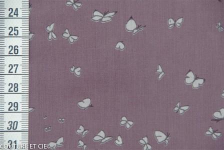 Batiste papillon figue