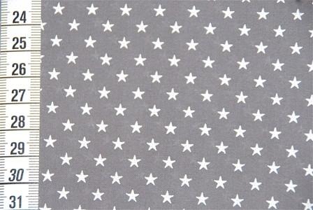 Batiste gris étoiles blanches France Duval stalla