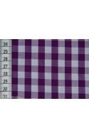 Vichy grands carreaux violet