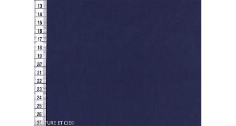 Fil à fil marine changeant dans Tissus unis par Couture et Cie