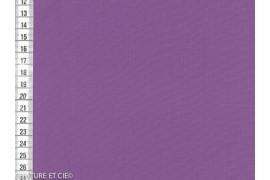 Popeline fil à fil violet