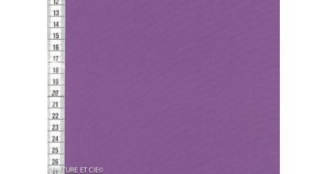 Popeline fil à fil violet dans Tissus unis par Couture et Cie