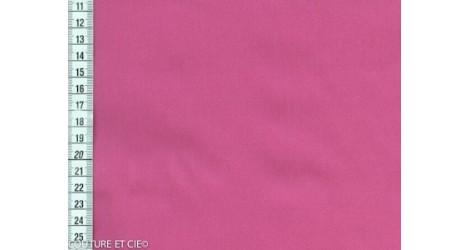 Popeline Fil à Fil framboise dans Tissus unis par Couture et Cie