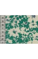 Tissu Liberty Jody vert, coupon 45*135 cm