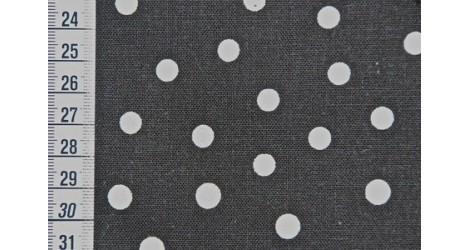 Métis noir à pois dans TISSUS JAPONAIS par Couture et Cie