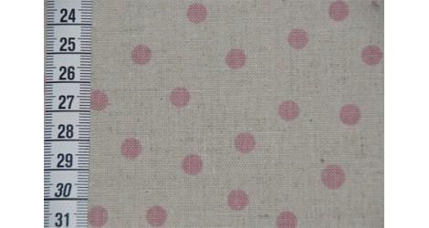 Métis à pois rose dans TISSUS JAPONAIS par Couture et Cie