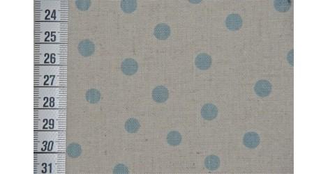 Métis à pois bleu dans TISSUS JAPONAIS par Couture et Cie