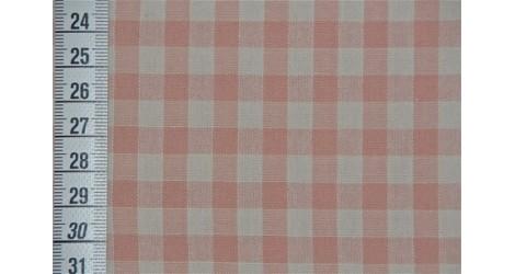 Tissé teint vichy rose dans TISSUS JAPONAIS par Couture et Cie