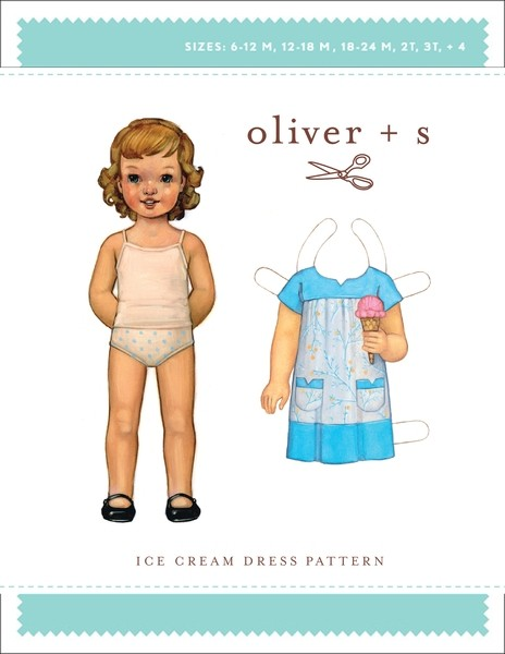 Ice Cream Dress pattern