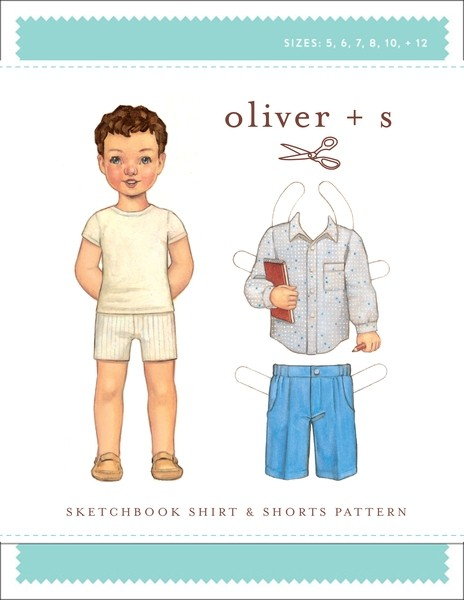 Sketchbook Shirt & Shorts pattern