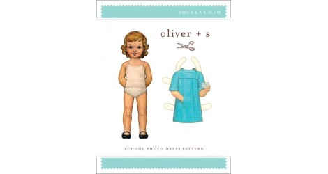 School Photo Dress Pattern dans Oliver S par Couture et Cie