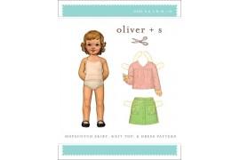 Hopscotch Skirt, Knit Top & Dress pattern